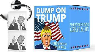 Papel Higiénico Donald Trump | Dump on Trump Toilet Paper | WC Rollo Broma