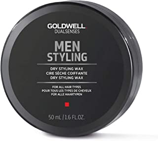 Goldwell Dualsenses Dry Styling Wax for Men, 1.7 Ounce