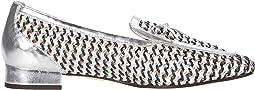 Ivory Navy Silver
