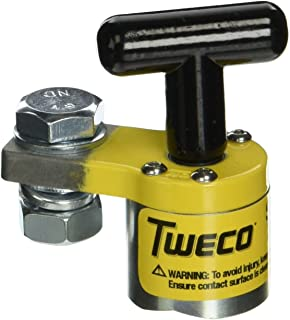 Tweco 9255-1060 Switchable Magnetic Ground Welding Clamp, 200-Amp