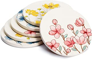 Flower Coasters Sets