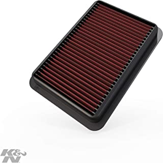 K&N engine air filter, washable and reusable: 2006-2017 Mitubishi (Lancer VIII, Lancer, Lancer Evolution, Lancer Raliart, Outlander, ASX) 33-2392
