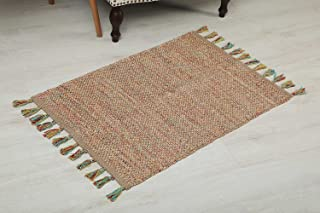 Pan Emirates Morin Dhurrie With Fringes, Multi - 60x90cm