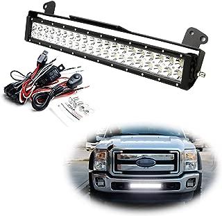 Best f250 light bar bumper Reviews