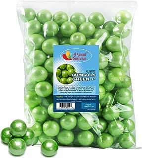 lime green gumballs