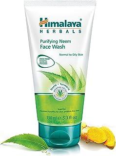 Himalaya Herbals - Espuma Limpiadora Purificante De Neem y Curcuma Hidratante Facial Natural 150 ml