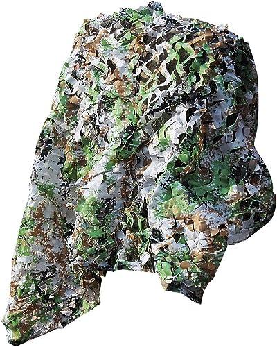 Filet de camouflage Woodland, filet décoratif de camouflage, filet de prougeection solaire crypté, adapté à la verdure et à la chasse au parasol décorative dans la jungle, disponible en différentes tail