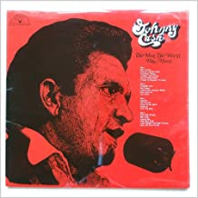 JOHNNY CASH - the man, the world, his music SUN 126 (LP vinyl record)
