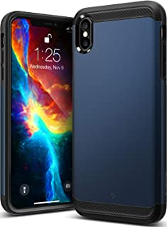 Caseology Legion for iPhone Xs Max Case (2018) - Reinforced Protection - Midnight Blue