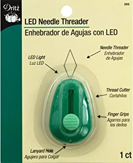 Dritz 202 LED Needle Threader with Cutter