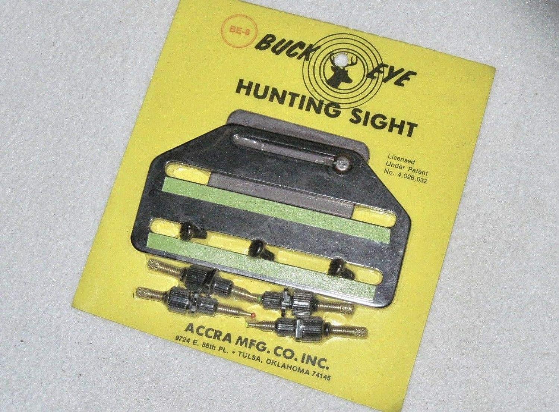 Vintage Buck Eye 4 Pin Hunting Sight  Recurve Compound Archery Bow