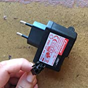 importado de Alemania Carrera RC 370800002 8,4 V, 500 mA Cargador para todos los coches Carrera RC 27 MHz