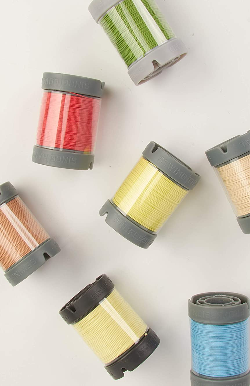 Since Leather Linen Thread for leathercraft M30/0.35MM/150M/Spool (White, M30/150M/Spool)