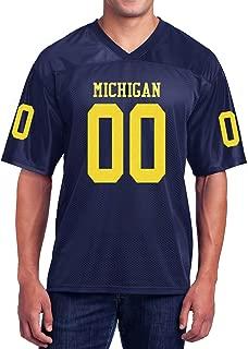 Custom Michigan Football Jersey - No Brands, No Logos