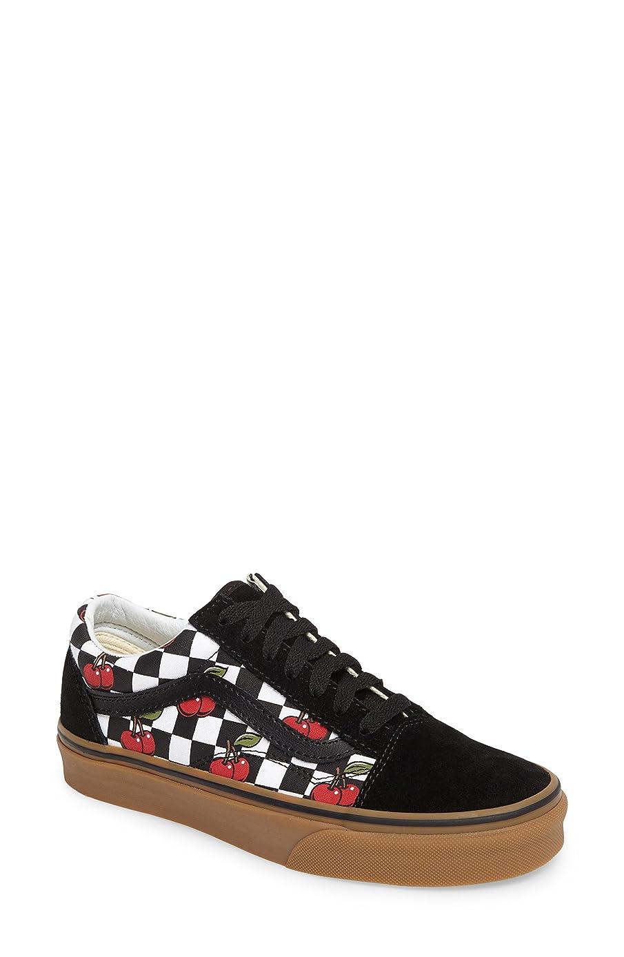 堤防セクションマットレスバンズ シューズ スニーカー Vans Old Skool Sneaker (Women) Black/ Gum [並行輸入品]