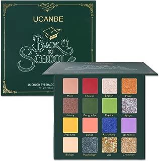 UCANBE Makeup Eyeshadow Palette Glitter Eyeshadow - Matte Shimmer 16 Colors - Back to School Palette - Professional Eye Shadow Makeup Pallets (Back to School Palette)