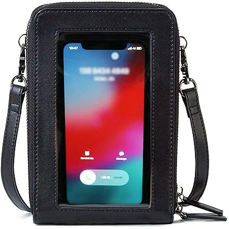 fille femmes Bandoulière Portable Sac à main écran tactile téléphone Pochette