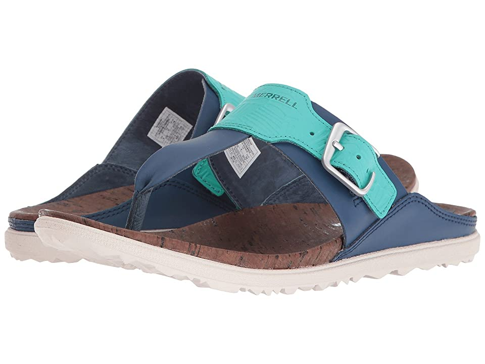 Merrell Around Town Post Print (Poseidon) Women