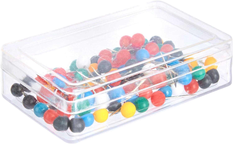 200 unidades colores surtidos Basics Chinchetas punta de acero