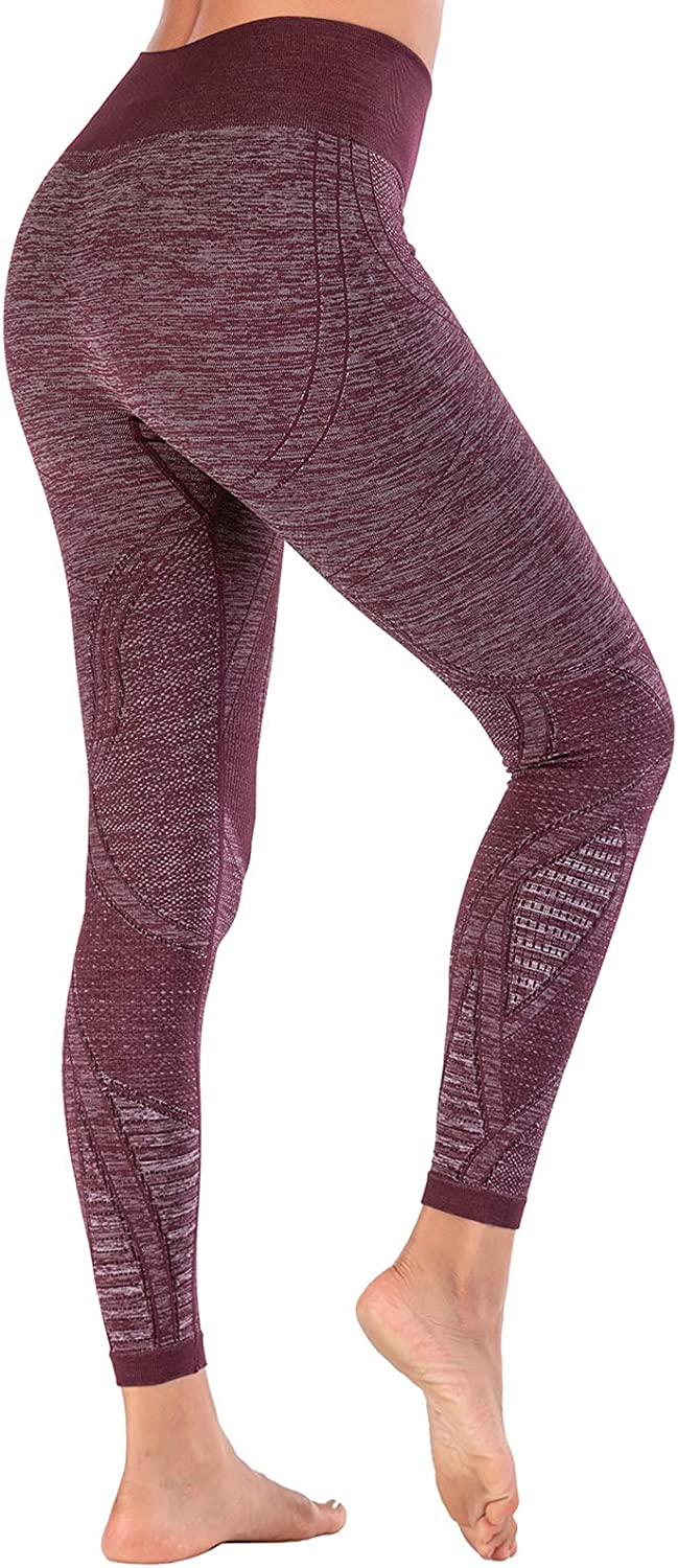 Seamless Leggings High Max 43% OFF Waisted Yoga Proof Genuine Women Squat for Pants