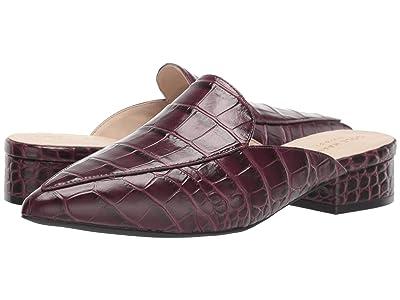 Cole Haan Piper Mule (Wine Tasting Croc Print Leather) Women