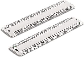 HD461 Penna in legno con righello e pratica tabella di conversioni da cucina