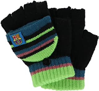 Foemo Kids 5-8 Knit Convertible Winter Mitten Gloves