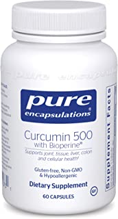 Pure Encapsulations - Curcumin 500 with Bioperine - Antioxidants for The Maintenance of Good Health* - 60 C...