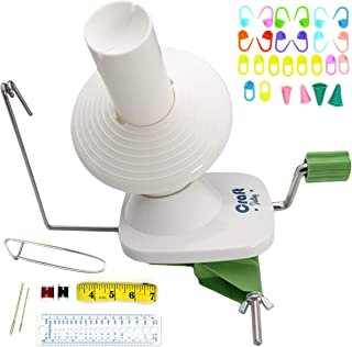 Yarn Winder by Craft Destiny – Easy to Set Up and Use – Hand Operated Yarn..