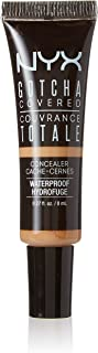 NYX Professional Makeup Gotcha Covered Concealer, No.06 Golden, 0.27 Fluid Ounce