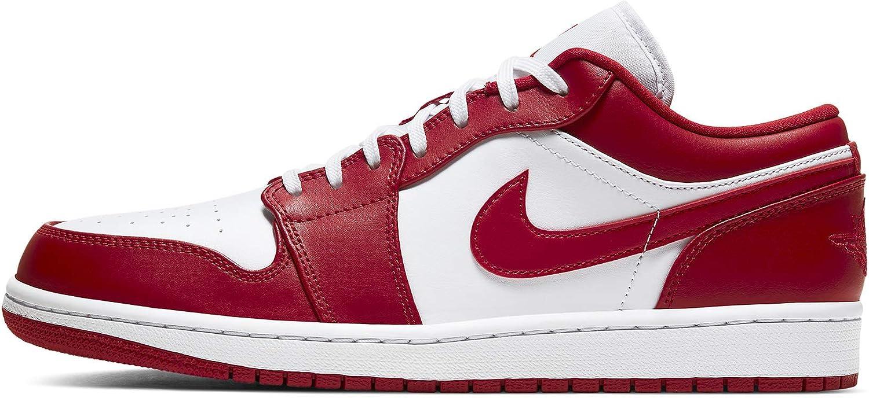 Jordan Air 1 Low Gym Red Mens 553558 611 - Size