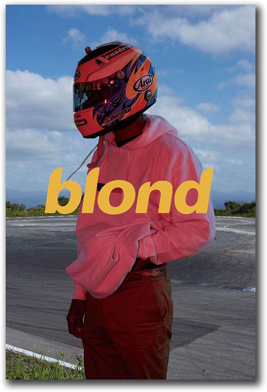 Art Print POSTER CANVAS New Frank Ocean Blonde Rap Music Star