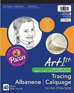 Art1st PAC2371BN Tracing Pad, White, 11