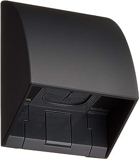 パナソニック(Panasonic) スマート防雨入線カバー ブラック WP9631B