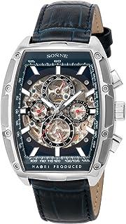 [ゾンネ]SONNE 腕時計 H018 ネイビー文字盤 自動巻き H018SS-NV メンズ