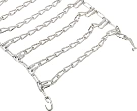 Arnold Lawn Tractor Rear Tire Chains Fits 18-Inch x 9.5-Inch Tires