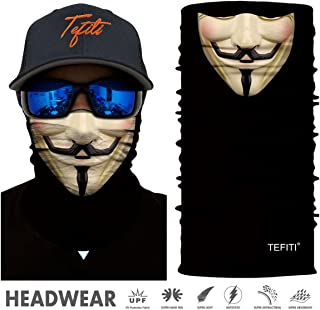 Stretchable Face Scarf Guards Balaclava Headwear for..