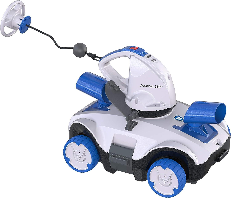 Hayward 250 Robot Limpiador eléctrico para Piscina, Azul y Gris