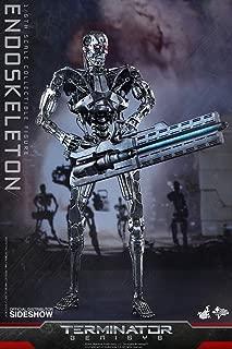 Hot Toys Terminator Genisys T-800 Endoskeleton Endo 1/6 Scale 12
