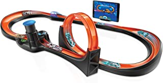 Hot Wheels id Smart Track Starter Kit with 3 Exclusive Cars, Track Pieces and Hot Wheels Race Portal for Physical & Digita...