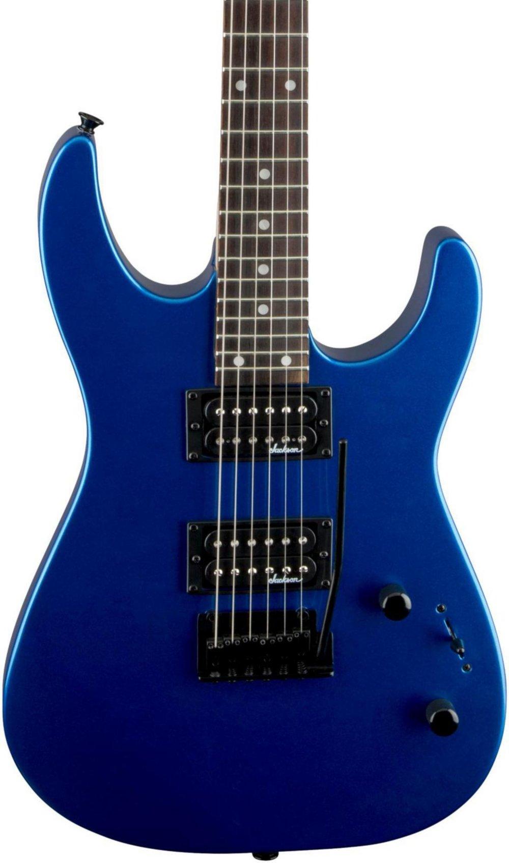 Cheap Jackson JS12 Electric Guitar Dark Metallic Blue Black Friday & Cyber Monday 2019