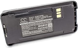 vhbw Li-Ion batería 2600mAh (7.5V) para Radio, walkie-Talkie como Motorola PMNN4476A