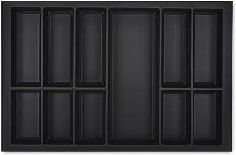 ORGA-BOX VII Design Insert à couverts noir 726 x 474 mm rangement couverts Veriset KH Schröder cuisines et bien plus encor...