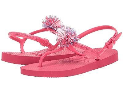 Havaianas Kids Freedom SL (Toddler/Little Kid/Big Kid) (Flamingo) Girls Shoes