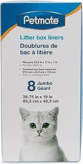 Petmate Jumbo Litter Pan Liners, 8 Pack