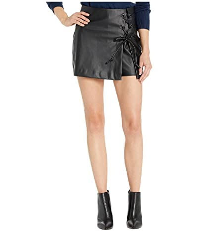 BCBGeneration Lace-Up Skort YPM7248302 (Black) Women