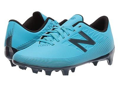 New Balance Kids JSFDFv5 Soccer (Little Kid/Big Kid) (Bayside Blue/Supercell) Kids Shoes