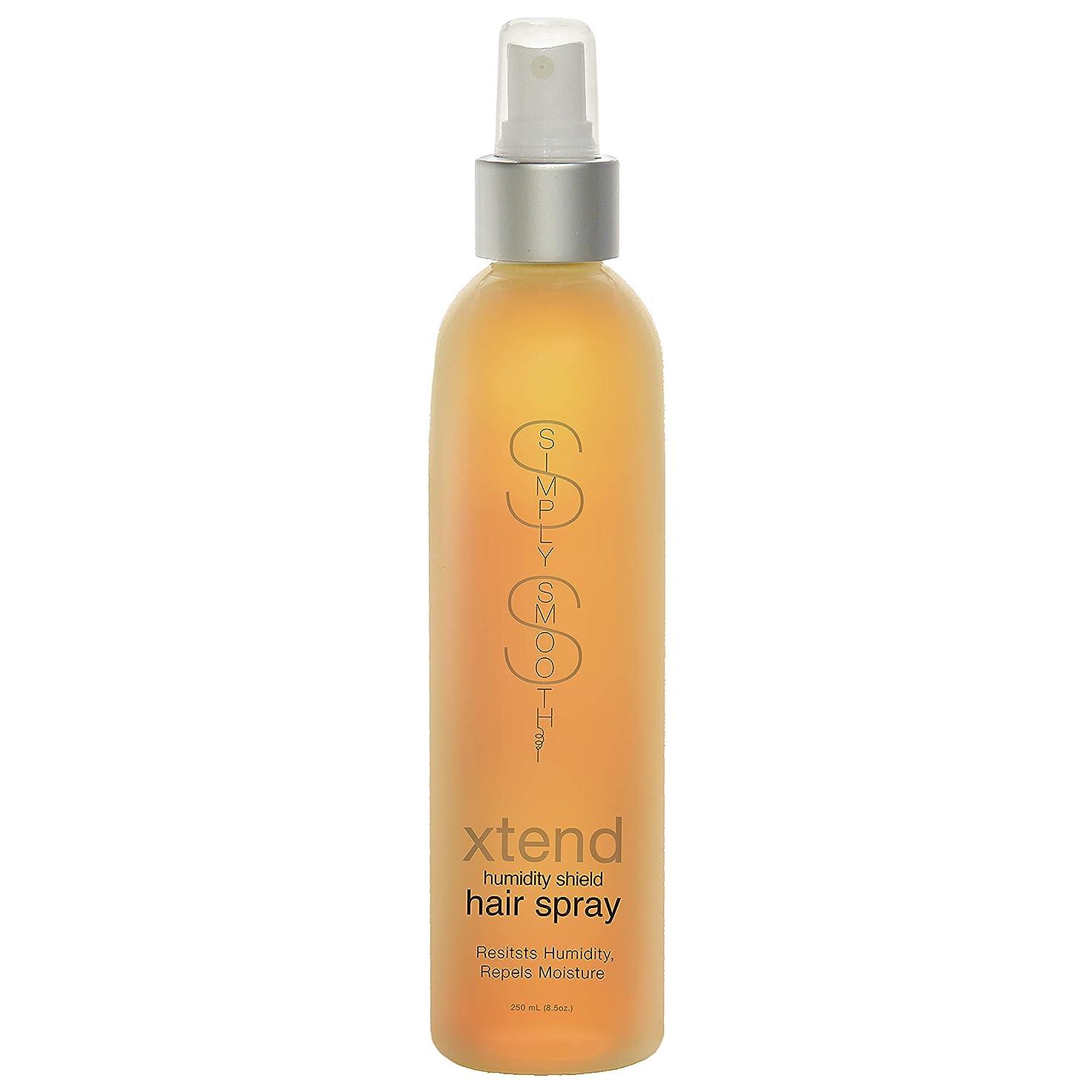 大学院階光沢Simply Smooth Xtend Humidity Shield Hairspray(Non-Aero) 8 oz. (並行輸入品)