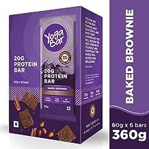 Yogabar 20 gram Protein Bar Chocolate Brownie - 6 x 60 g