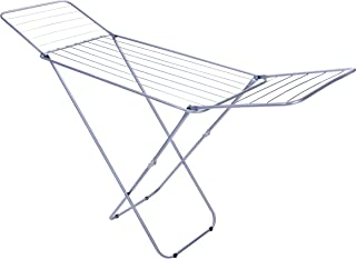 Royalford RF5000 Large Folding Clothes Airer - Drying Space Laundry Washing  Durable Metal Drying Rack   Multifunctional A...